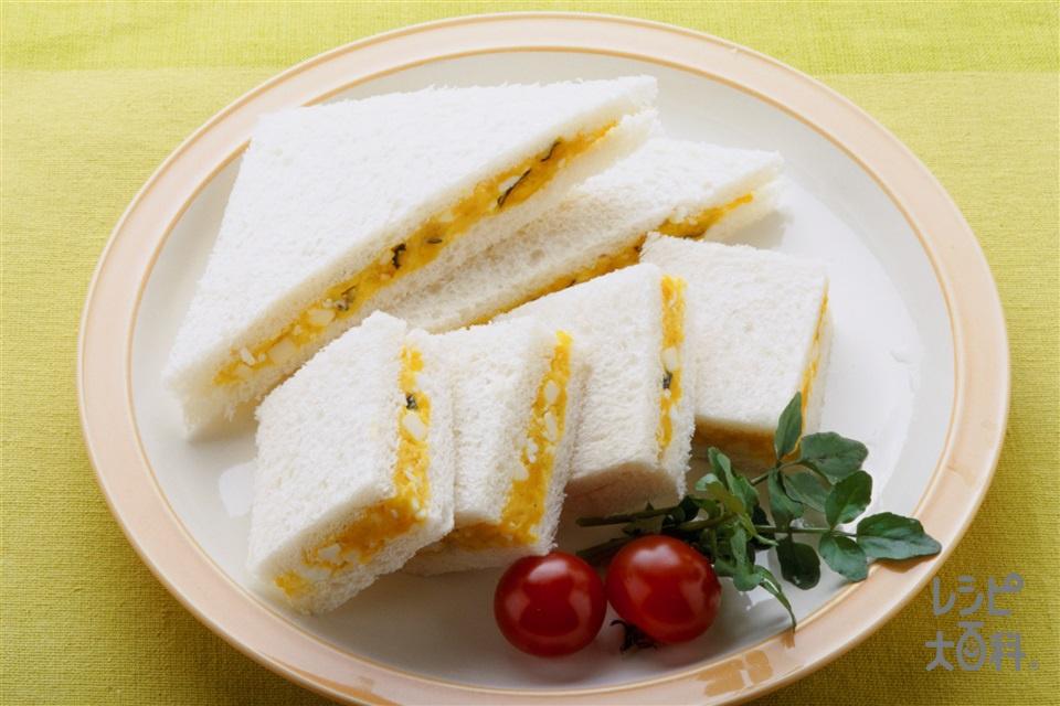 パンプキンサンド(サンドイッチ用食パン+かぼちゃを使ったレシピ)