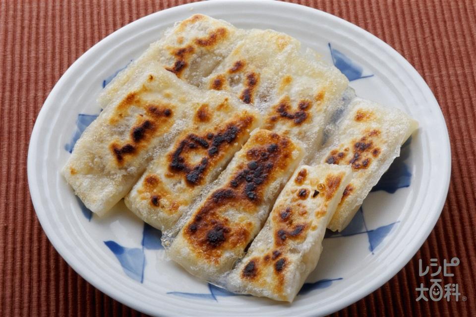 棒ギョーザ(豚ひき肉+餃子の皮を使ったレシピ)