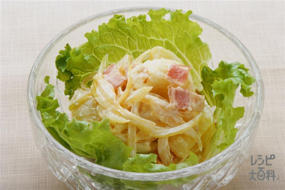 ジャーマンポテトサラダ(じゃがいも+玉ねぎを使ったレシピ)