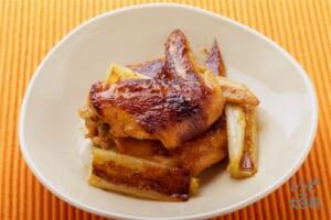 鶏肉のピリ辛みそ焼き