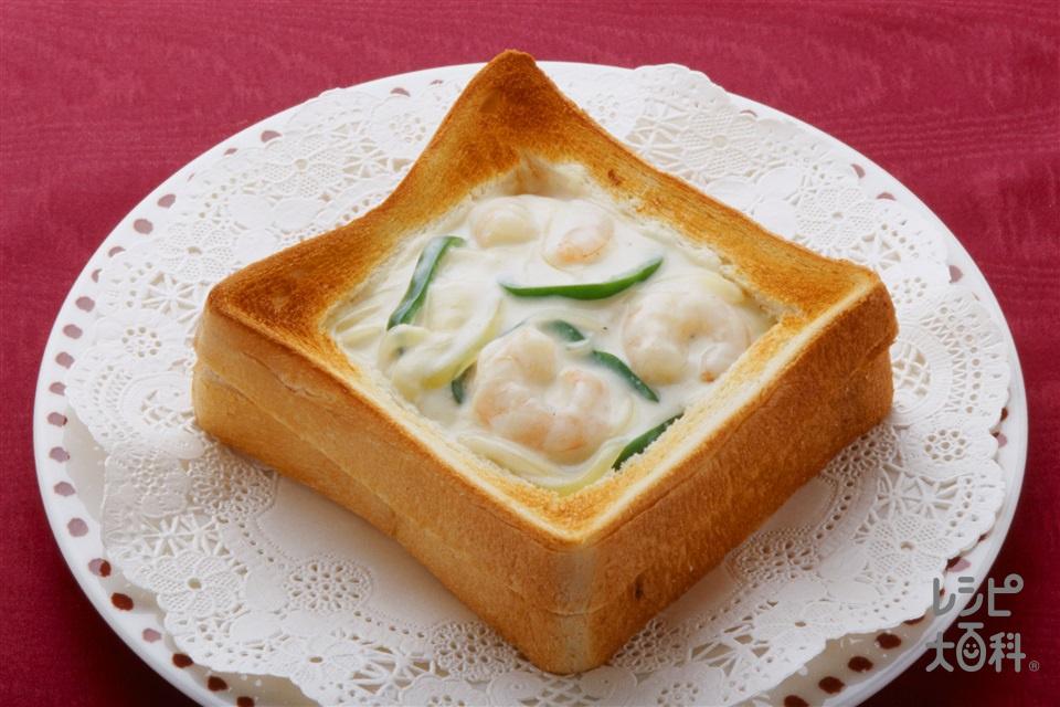 食パンのグラタン(食パン6枚切り+牛乳を使ったレシピ)