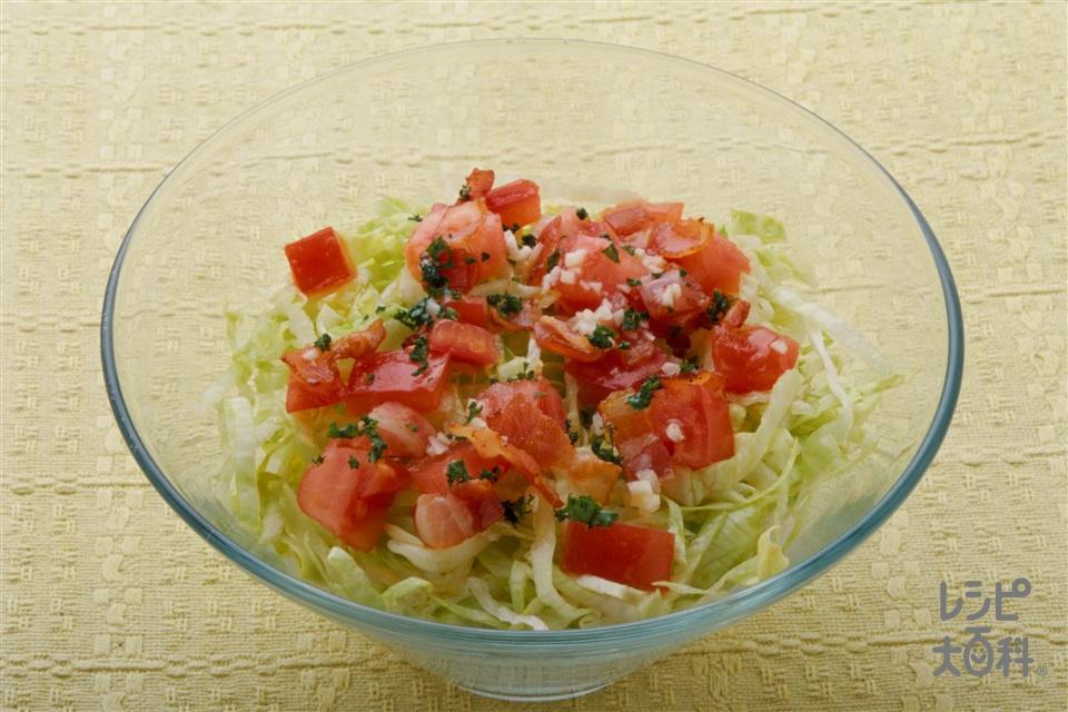 イタリアンサラダずし(ご飯+トマトを使ったレシピ)