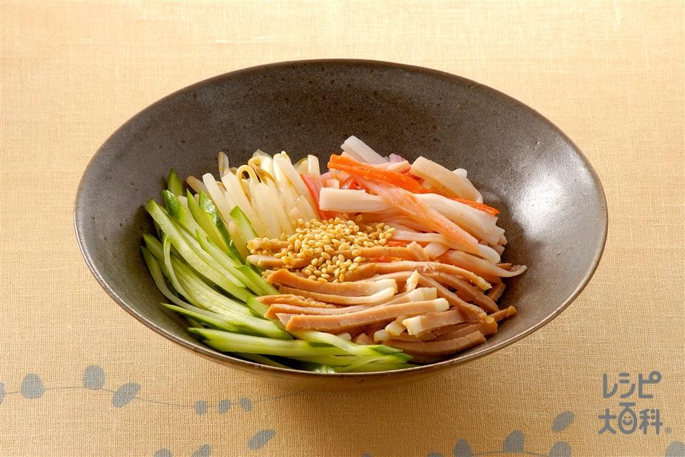 リャンバン(きゅうり+焼き豚を使ったレシピ)