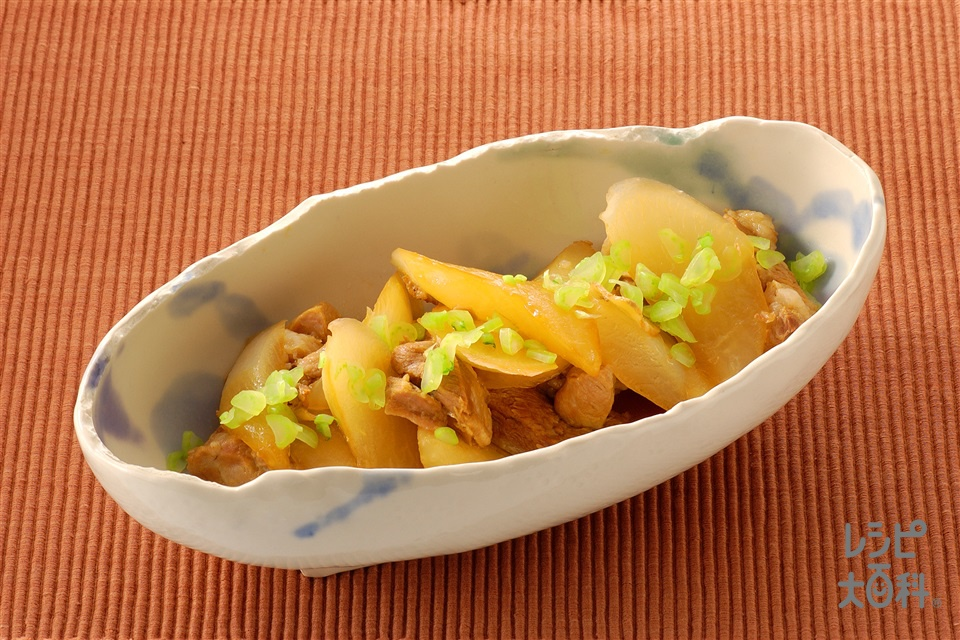 大根と豚ばら肉のこっくり煮(大根+豚バラ肉を使ったレシピ)