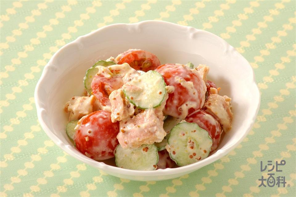ミニトマトとツナのサラダ(ミニトマト+ツナ缶を使ったレシピ)
