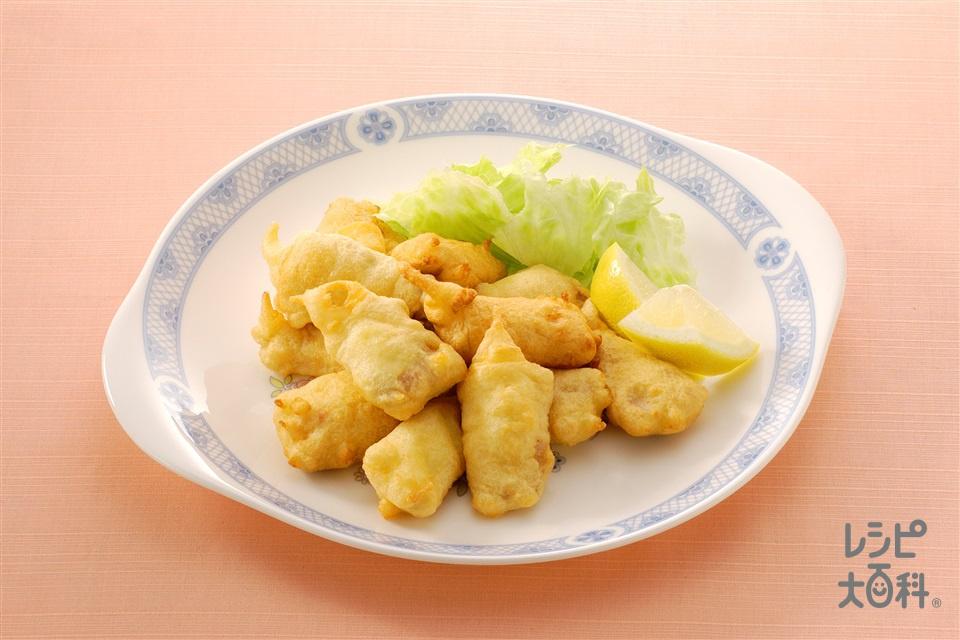 いわしのマヨ衣揚げ(いわし+A小麦粉を使ったレシピ)
