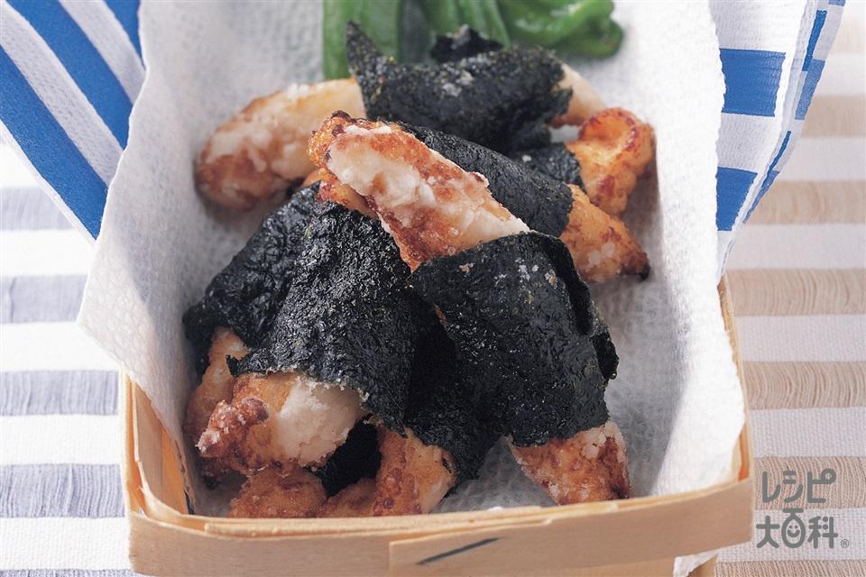 ささ身の磯辺から揚げ(鶏ささ身+Aしょうゆを使ったレシピ)