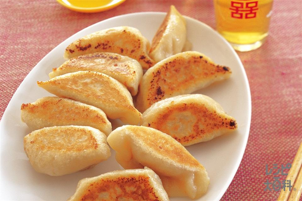ギョーザ(強力粉+白菜を使ったレシピ)