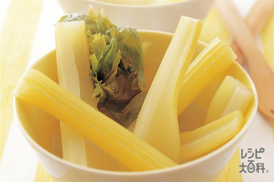 セロリのスープ煮(セロリを使ったレシピ)