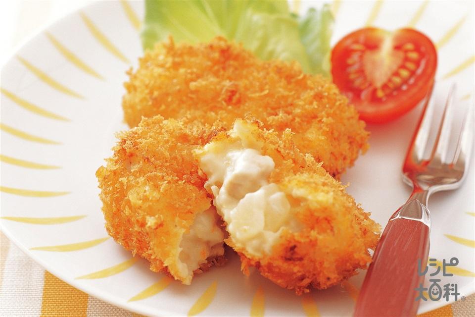 チキンクリームコロッケ(鶏むね肉+玉ねぎを使ったレシピ)