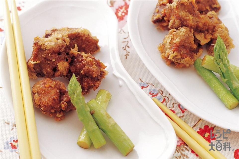 鶏レバーのカレー風味竜田揚げ