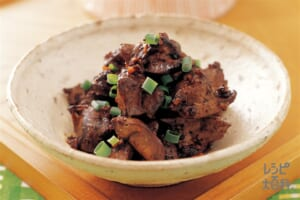 鶏レバーの中国風つくだ煮