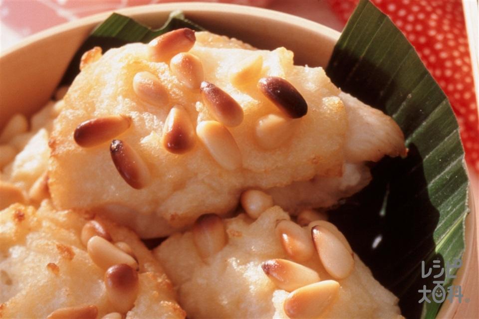 たいのポテト焼き(たい+「瀬戸のほんじお」を使ったレシピ)