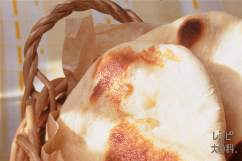 ナン(A強力粉+A薄力粉を使ったレシピ)