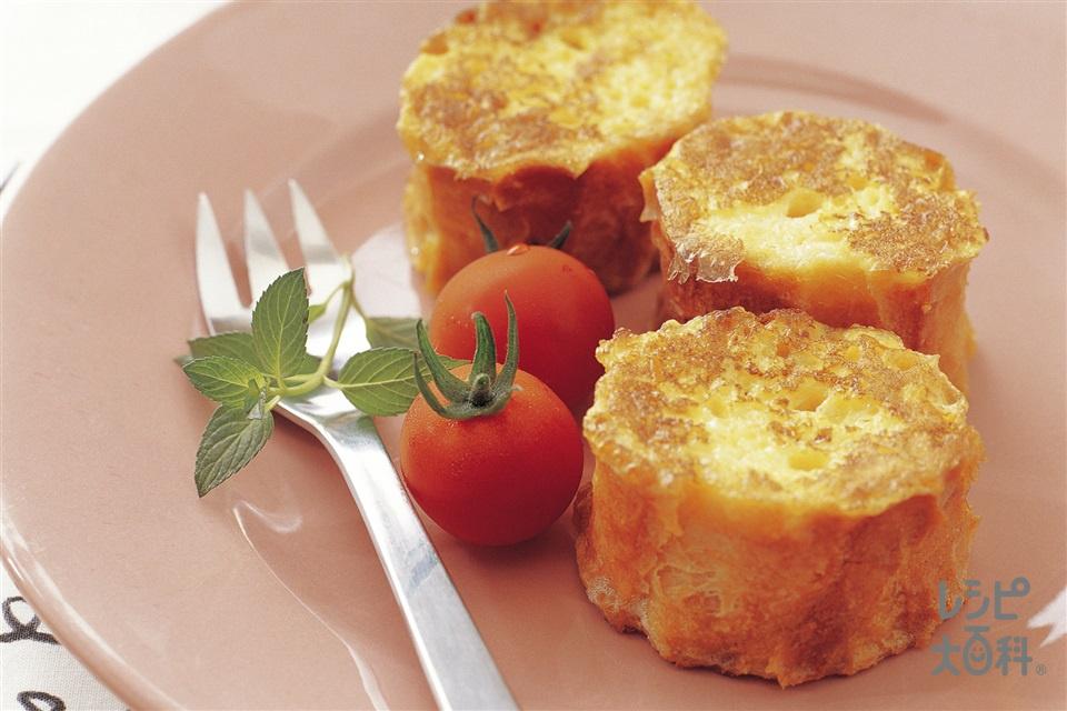 フレンチトースト(フランスパン+牛乳を使ったレシピ)
