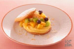 ビスキュイのフルーツ入りケーキ