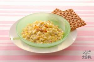 卵とケシの実のサラダ