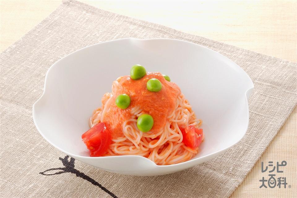 トマトそうめん(トマト+そうめんを使ったレシピ)