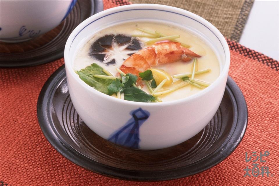 茶碗蒸し(卵+鶏ささ身を使ったレシピ)