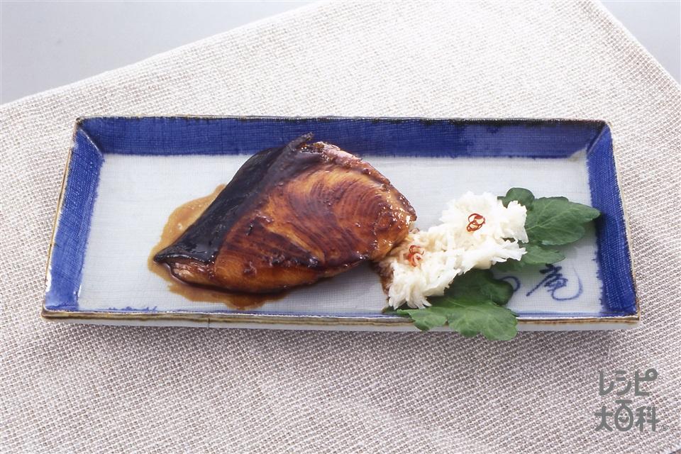 ぶりの照り焼き(ぶり+かぶを使ったレシピ)