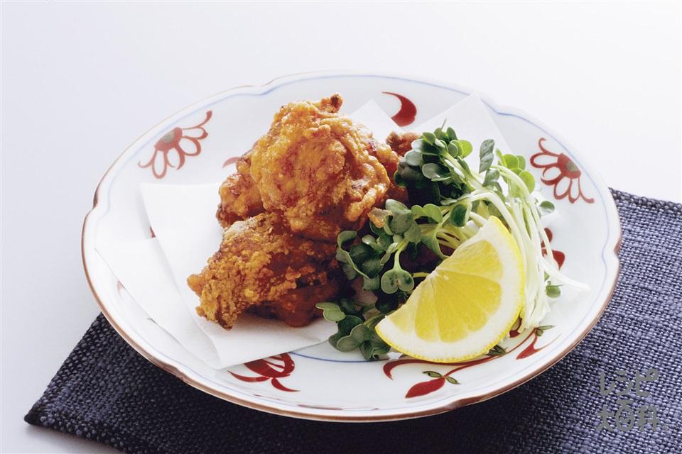 若鶏の竜田揚げ(鶏もも肉+レモンを使ったレシピ)