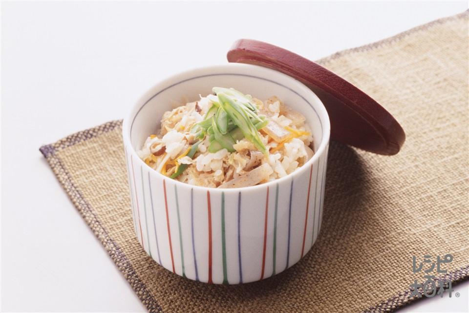 かやくご飯(米+こんにゃくを使ったレシピ)