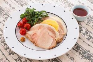 ローストポーク(豚ロースかたまり肉+ミニトマトを使ったレシピ)