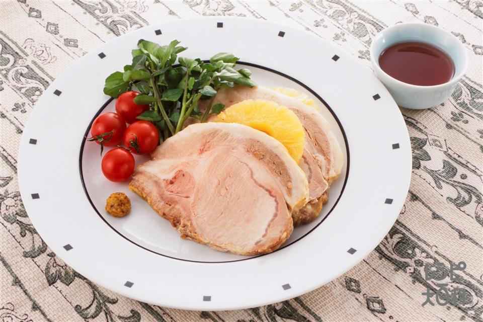 豚肉 かたまり 料理
