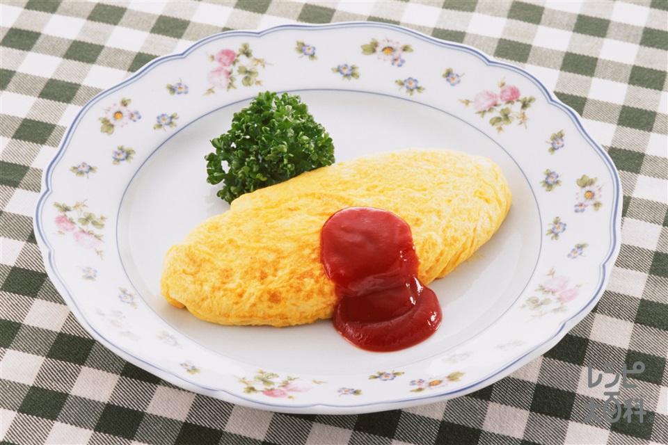 プレーンオムレツ(卵+A牛乳を使ったレシピ)