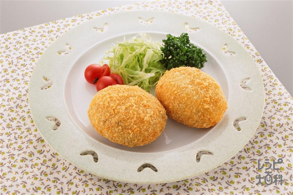 ポテトコロッケ(じゃがいも+玉ねぎを使ったレシピ)