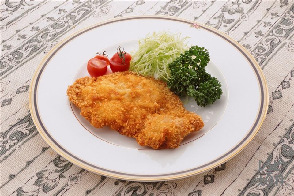 豚肉のカツレツ(豚ロース肉+キャベツのせん切りを使ったレシピ)