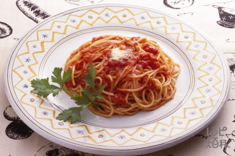 本格トマトソーススパゲッティ