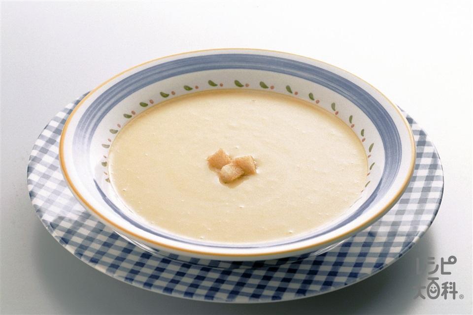 コーンポタージュスープ(ホールコーン缶+牛乳を使ったレシピ)