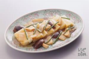 揚げ豆腐の煮込み