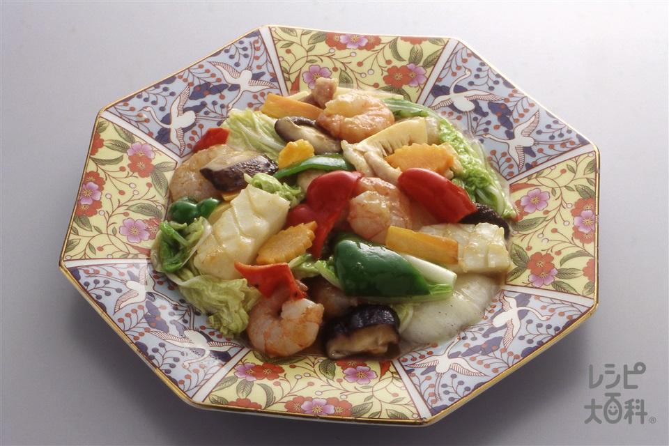 八宝菜(えび+白菜を使ったレシピ)
