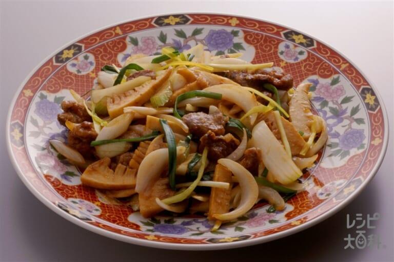 鶏レバ-と野菜の炒め煮