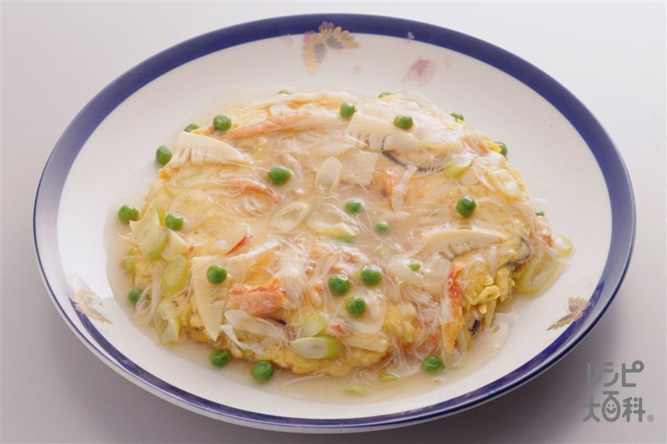 かに玉(卵+ゆでたけのこを使ったレシピ)