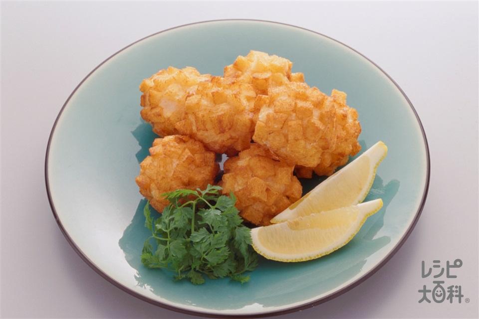 えびのクルトン揚げ(むきえび(大)+サンドイッチ用食パンを使ったレシピ)