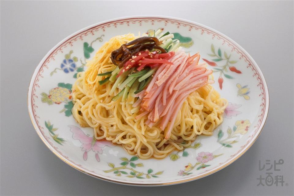 冷やし中華(中華生めん+きゅうりを使ったレシピ)
