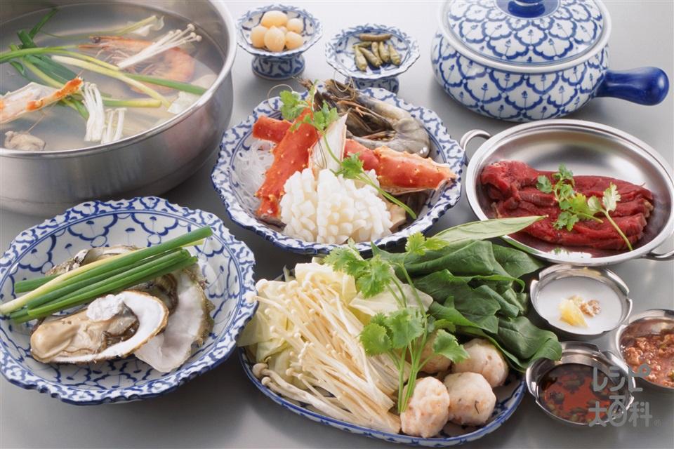 タイしゃぶ(いか+キャベツを使ったレシピ)