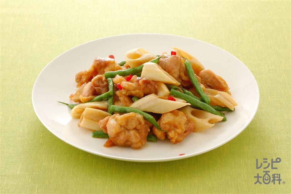チキンの南蛮漬け(鶏もも肉+れんこんを使ったレシピ)