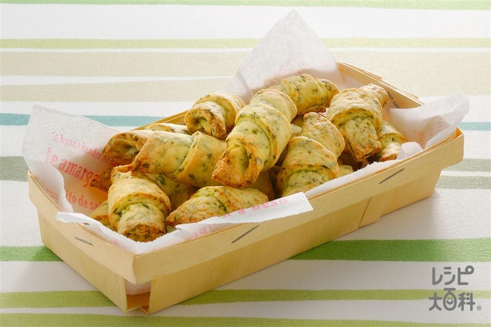 ほうれん草のソフトクッキー(ほうれん草+小麦粉を使ったレシピ)