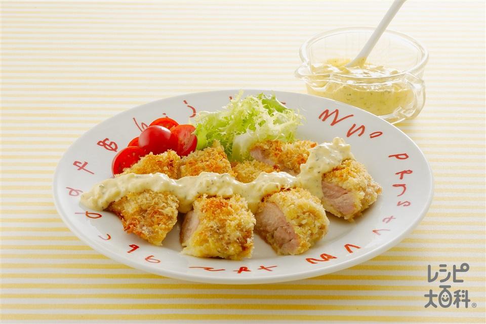 チキンのパネソテー風(鶏もも肉+「瀬戸のほんじお」を使ったレシピ)