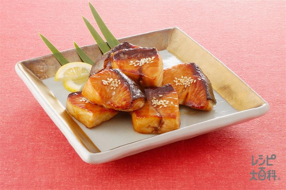 ぶりのオイスターソース照り焼き(ぶり+A「Cook Do」オイスターソースを使ったレシピ)