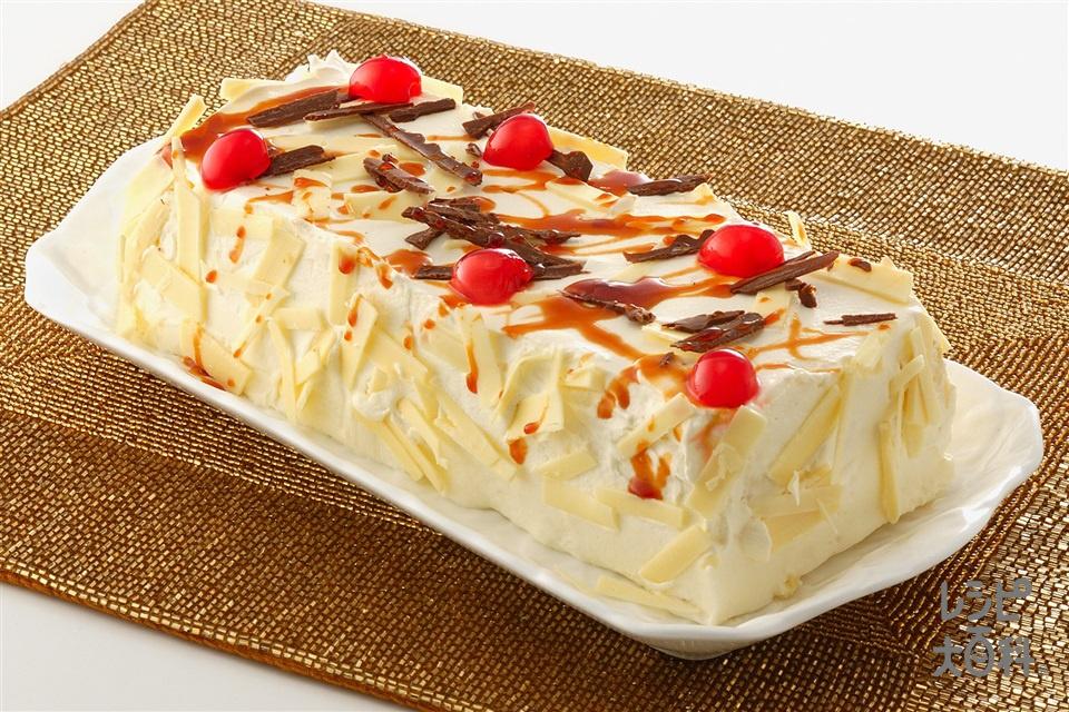 簡単デコレーションケーキ(卵+生クリームを使ったレシピ)