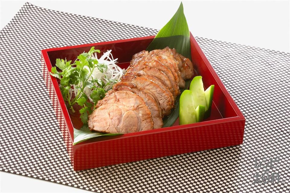 柔らか焼き豚(豚肩ロースかたまり肉を使ったレシピ)