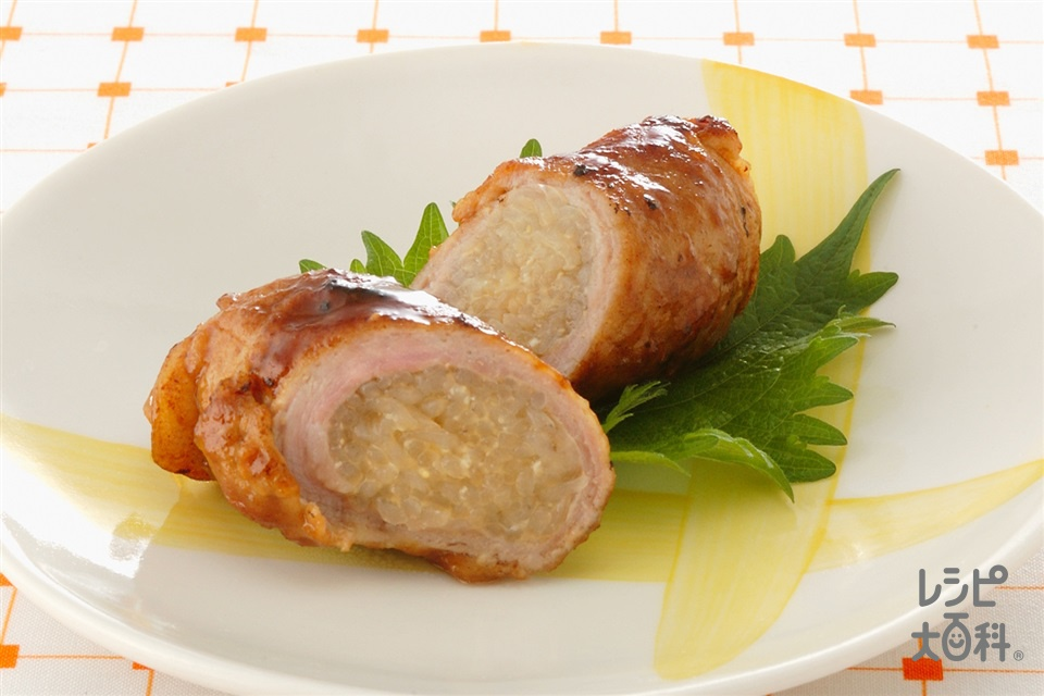 豚肉のしらたき巻き(豚もも薄切り肉+しらたきを使ったレシピ)