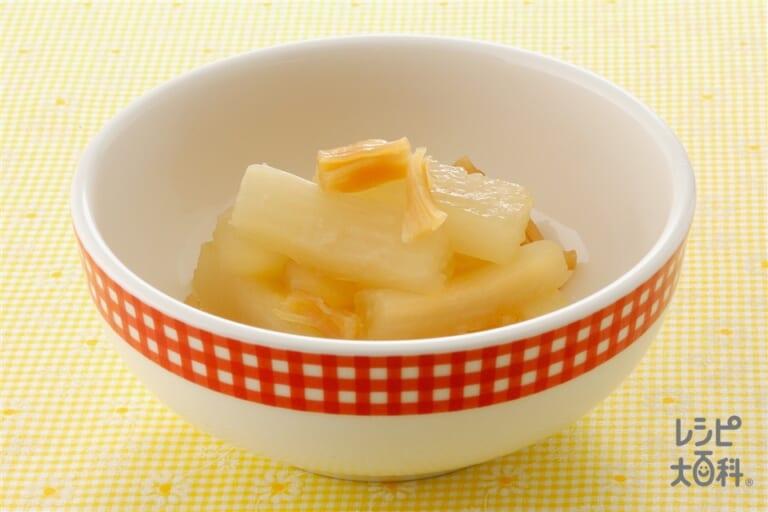 大根のがらスープ煮