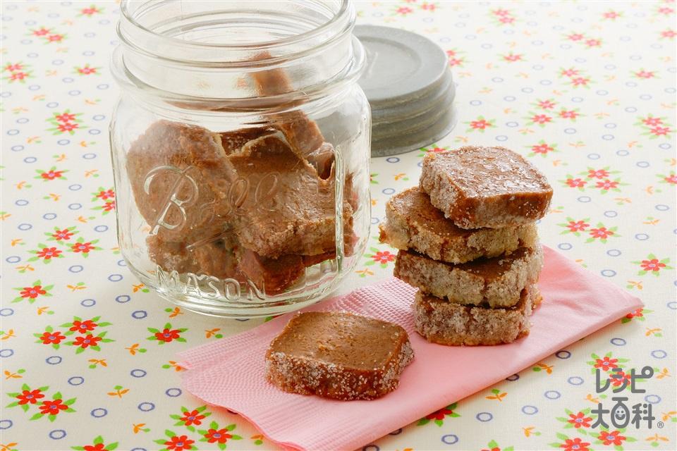 ソフトココアクッキー(小麦粉+卵白を使ったレシピ)