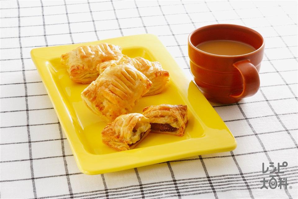 チョコパイ(バナナ+卵黄を使ったレシピ)